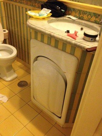 Hotel Locarno: Il bidet a scomparsa