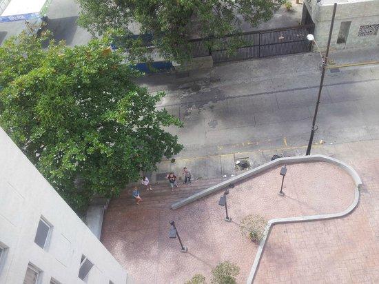 Hotel Cumberland Maracaibo: Вид с 7 этажа