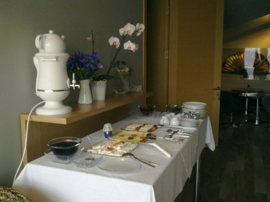 One Istanbul Hotel Suadiye: Roffta Kahvaltı