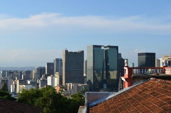 Bossa in Rio Hostel: Vista desde os quartos coletivos para 4 ou 6 pessoas