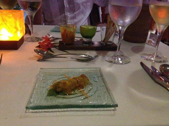 Cafe des Arts : Бесплатные закуски от ресторана
