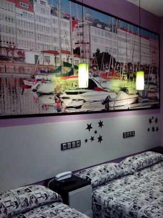 JC Rooms Santa Ana : Habitación La Coruña