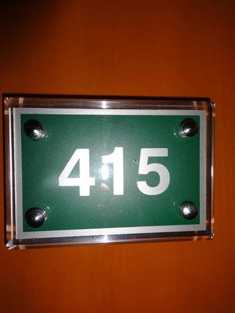 Grand Yavuz Hotel: number of my room