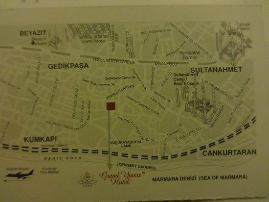 Grand Yavuz Hotel: card