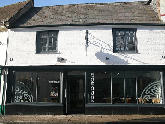 Exterior Picture Of Pizza Express Arundel Tripadvisor