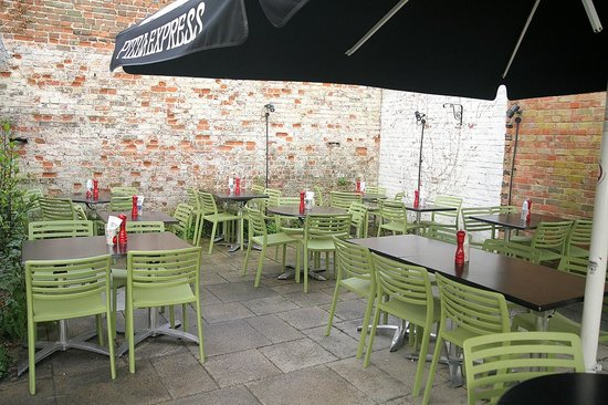 Garden Terrace Picture Of Pizza Express Arundel