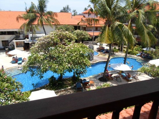 Bali Rani Hotel: Pool view room.. to die for!