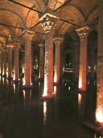 Seven Hills Hotel: Roman Cisterns