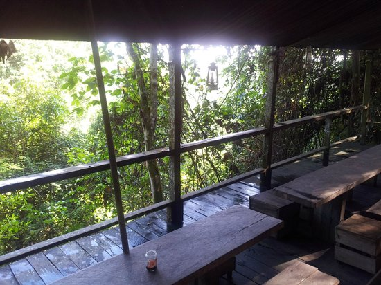 Paganakan Dii Tropical Retreat: dinning area in the jungle