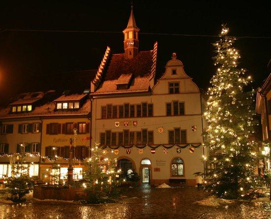 Haus Goethe vom Hotel Löwen: Staufen City Christmas