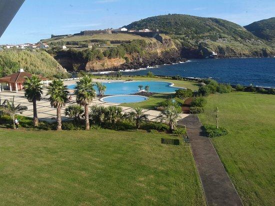 Terceira Mar Hotel: from an upper balcony