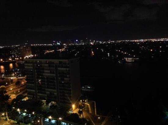 Marriott's BeachPlace Towers: View from room 1204