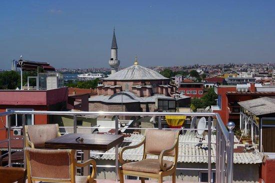 Emma Saray Hotel : Вид с террасы