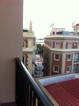 Don Curro Hotel : one of the views from balcony room 711
