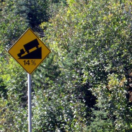 Tweedsmuir Park Lodge : 9 km in de 1e versnelling