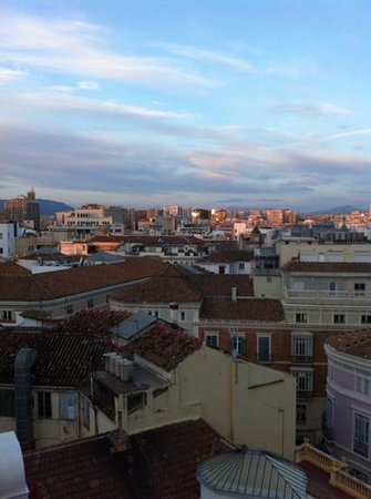 Don Curro Hotel : balcony view room 711