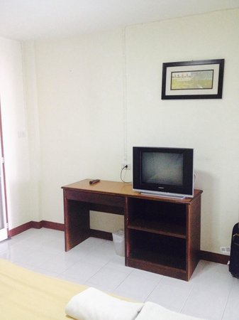 A-Nine Place, Chiang Mai Boutique House : TV in room