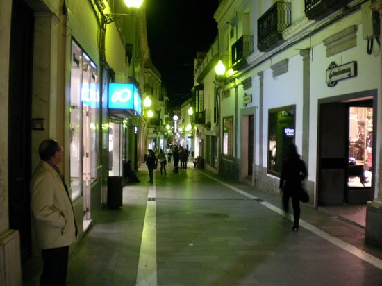 Hotel Plaza Grande: The pedestrian shopping stree just one block from the hotel