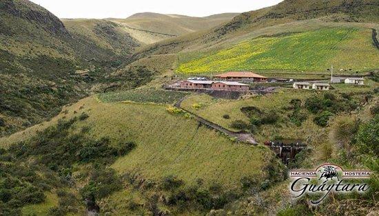 Vista de la Hacienda, Hacienda Hosteria Guaytara, Pintag, Quito, Pichincha, Ecuador
