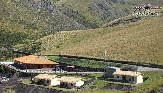 Paisaje, Hacienda Hosteria Guaytara, Pintag, Quito, Pichincha, Ecuador