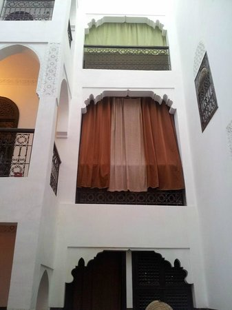 Riad Khabia : view from the patio