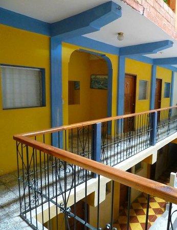 Hotel y Hostal Yaxkin Copan: View from room #16