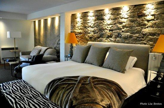 Auberge Saint-Antoine: A Luxe room