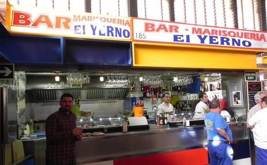 Bar Cafeteria El Yerno: Bar Marisqueria El Yerno 2