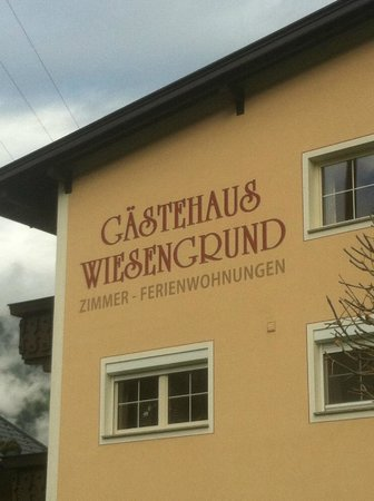 Haus Wiesengrund B&B: The hotel