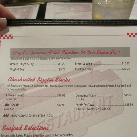 Southern Kitchen : More of the menu