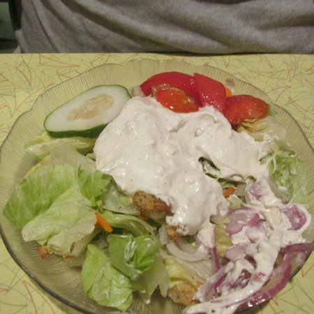 Southern Kitchen : Salad ... great blue cheese dressing!