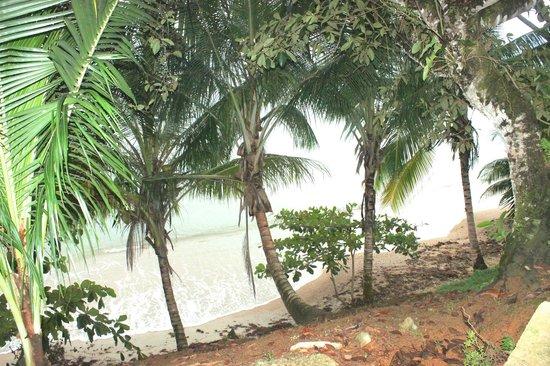 Popa Paradise Beach Resort: Beachfront view
