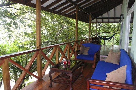 Popa Paradise Beach Resort: Penthouse balcony