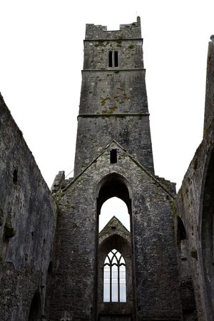 Quin Abbey Tower