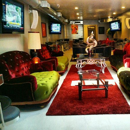 The Lounge Barber Shop & Bar: VIP Lounge Area