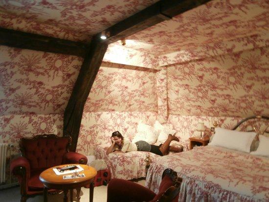 Hotel l'Ecrin: camera ultimo piano