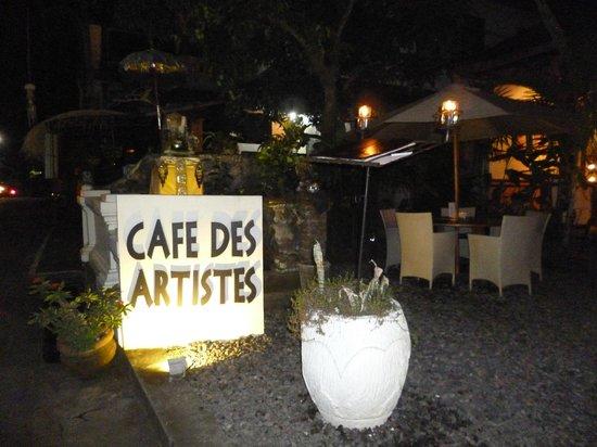 Cafe des Artistes: Lo recomiendo