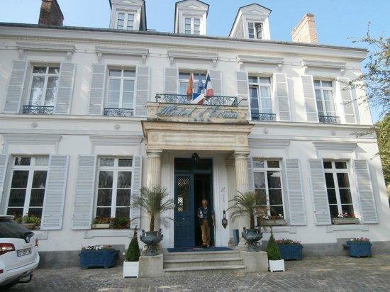 Hotel l'Ecrin : facciata principale hotel