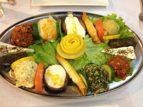 Sofram: Meze platter for 2
