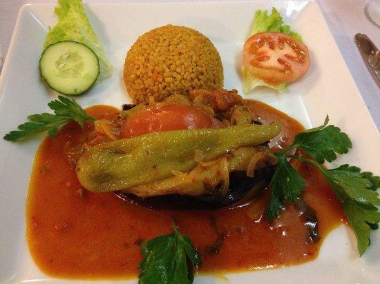 Sofram: Vegetarian aubergine dish