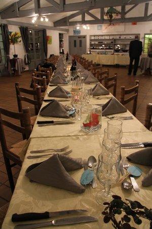 Chez Arlette : la table