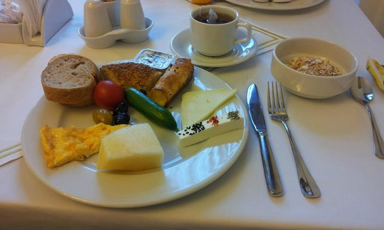 Sultan Palace Hotel: Frukost