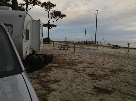 Cherrystone Family Camping Resort : view of our trailer location