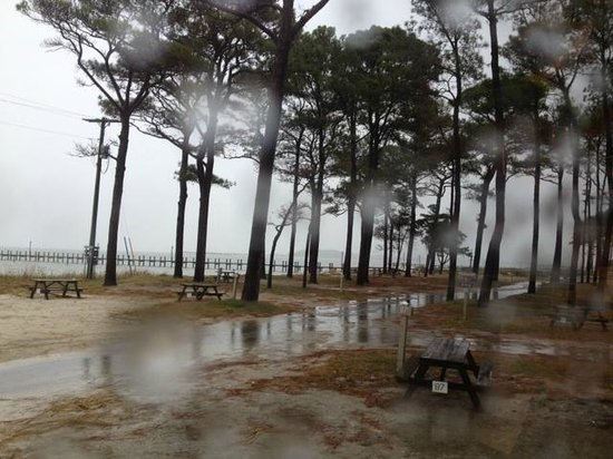 Cherrystone Family Camping Resort : view from our rig