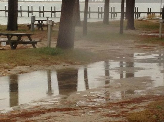 Cherrystone Family Camping Resort : After the rain