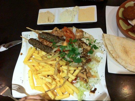 Akl Libanesisches Restaurant: Mixed Grill
