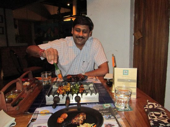 Barbeque Nation : Mouth watering taste