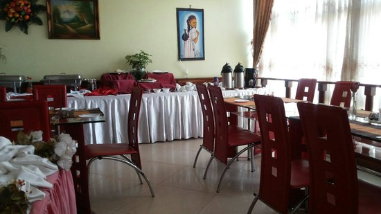 Hotel Sojovalo: Dining area