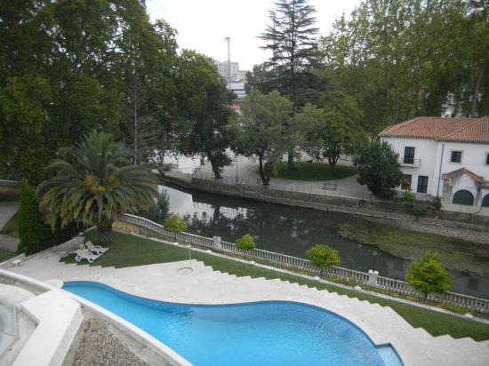 Hotel dos Templarios : View from oour balcony
