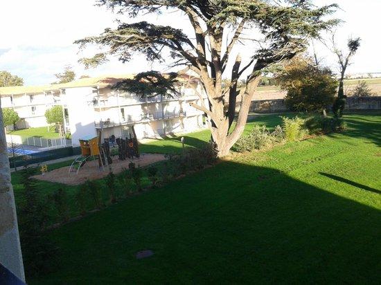 Hotel du Chateau : vue de la chambre